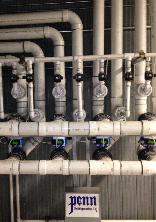 Refrigeration System Piping